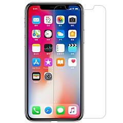 Недорогие Защитные пленки для iPhone X-Защитная плёнка для экрана Apple для iPhone X PET Закаленное стекло 1 ед. Защитная пленка для экрана Антибликовое покрытие Против
