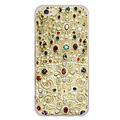 billige Etuier til iPhone 7 Plus-Etui Til Apple iPhone X iPhone 8 Plus Mønster Bagcover Anker Blødt TPU for iPhone X iPhone 8 Plus iPhone 8 iPhone 7 Plus iPhone 7 iPhone