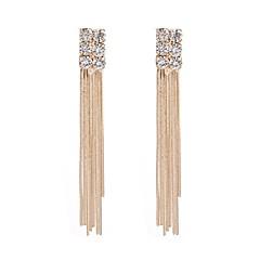 preiswerte Ohrringe-Damen Quaste Tropfen-Ohrringe - Klassisch, Quaste Gold Für Party Zeremonie