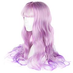 tanie -Peruki Lolita Sweet Lolita Light Purple Lolita Peruki Lolita 65 CM Peruki Cosplay Peruka Na