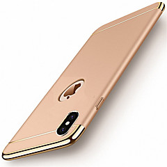billige iPhone 5-etuier-Etui Til Apple iPhone X iPhone 8 iPhone 5 etui iPhone 6 iPhone 7 Belægning Bagcover Helfarve Hårdt PC for iPhone X iPhone 8 Plus iPhone 8