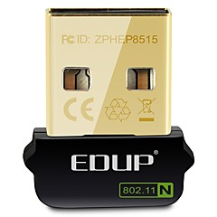 abordables Adaptadores de Red-edup ep-n8508gs mini tarjeta inalámbrica usb