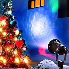 abordables Luces Decorativas para Celebración-12W Focos LED Al Aire Libre Decorar escena de boda Fiesta Vacaciones Año Nuevo Navidad Día de Acción de Gracias Halloween Decoración del