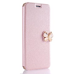 Case For Apple iPhone X iPhone 8 Plus Card Holder Full Body Solid Color Butterfly Hard PU Leather for iPhone X iPhone 8 Plus iPhone 8