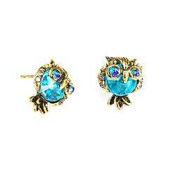 preiswerte Ohrringe-Damen Ohrstecker - Eule Retro, Modisch Blau Für Geburtstag / Geschenk / Zeremonie
