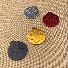 abordables Regalos para Amantes de Mascotas-Perros Gatos Adornos Mini Portátil Decoración Otros Cromo Dorado Plata Rojo