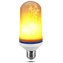 cheap LED Bulbs-1pc E27 5W Led Flame Lamps 99LED Flickering Emulation Fire Lights Decorative Lamp AC85-265V