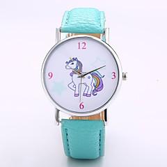 voordelige Herenhorloges-Heren Dames Vrijetijdshorloge Modieus horloge Polshorloge Chinees Kwarts Niet van Toepassing PU Band Informeel Elegant minimalistische