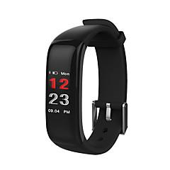 preiswerte Digitaluhren-Herrn / Damen Sportuhr / Digitaluhr Chinesisch Bluetooth / Chronograph / Wasserdicht Silikon Band Freizeit / Minimalistisch Schwarz / Schrittzähler