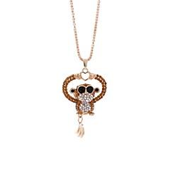 preiswerte Halsketten-Damen Anhängerketten / Ketten - Affe Hip-Hop Purpur, Braun Modische Halsketten 1 Für Verabredung, Strasse
