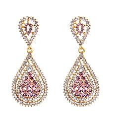 preiswerte Ohrringe-Damen Tropfen-Ohrringe - Diamantimitate Tropfen Klassisch, Modisch Gold Für Alltag / 2pcs