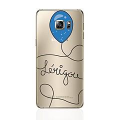 voordelige Galaxy S6 Edge Hoesjes / covers-hoesje Voor Samsung Galaxy S8 Plus S8 Patroon Achterkant Balloon Zacht TPU voor S8 Plus S8 S7 edge S7 S6 edge plus S6 edge S6