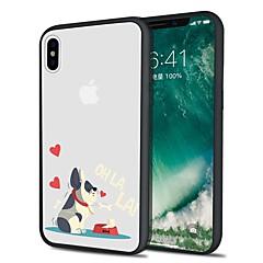 Кейс для Назначение Apple iPhone X iPhone 8 Plus С узором Задняя крышка С собакой Мягкий TPU для iPhone X iPhone 8 Pluss iPhone 8 iPhone