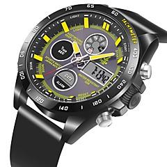 preiswerte Tolle Angebote auf Uhren-Herrn / Damen Armbanduhr Japanisch Armbanduhren für den Alltag PU Band Freizeit Schwarz