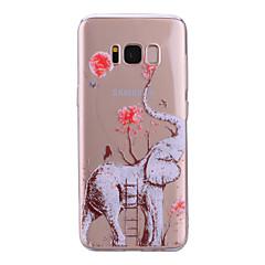 Χαμηλού Κόστους Galaxy S6 Θήκες / Καλύμματα-tok Για Samsung Galaxy S8 Plus S8 IMD Με σχέδια Πίσω Κάλυμμα Διάφανη Ελέφαντας Μαλακή TPU για S8 Plus S8 S7 edge S7 S6 edge S6 S5