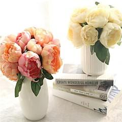 Недорогие Женские украшения-Искусственные Цветы 6 Филиал Modern Пионы Букеты на стол