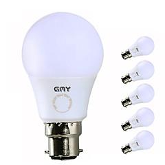 levne LED Žárovky-GMY® 6ks 7W 560/600 lm B22 LED kulaté žárovky A60(A19) 7 lED diody SMD LED světlo Teplá bílá Chladná bílá AC 220-240V