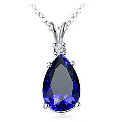 cheap Necklaces-Women's Pearl Pendant Necklace - Pearl Korean, Sweet, Fashion Dark Blue Necklace Jewelry For Gift, Daily