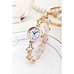 preiswerte Tolle Angebote auf Uhren-Damen Armband-Uhr / Armbanduhr Chinesisch Wasserdicht Legierung Band Glanz / Armreif / Modisch Silber / Gold