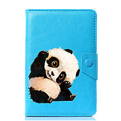 preiswerte Tablet-Hüllen-Hülle Für Ganzkörper-Gehäuse Tablet-Hüllen Panda Hart PU-Leder für