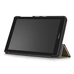 abordables Fundas para Tableta-Funda Para Huawei Funda de Cuerpo Entero Casos Tablet Dura Cuero de PU para