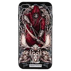 olcso iPhone tokok-Case Kompatibilitás Apple iPhone 7 iPhone 7 Plus iPhone 6 iPhone 6 Plus Dombornyomott Hátlap Punk Kemény PC mert iPhone 7 Plus iPhone 7
