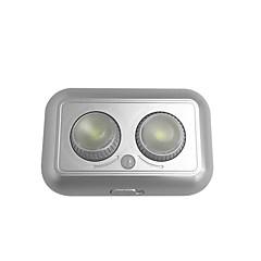 tanie Oświetlenie meblowe LED-1szt 1W 1 Diody LED Łatwa instalacja / Czujnik ruchu Oświetlenie meblowe LED Ciepła biel / Zimna biel Dom / biuro / Pokój dziecięcy /