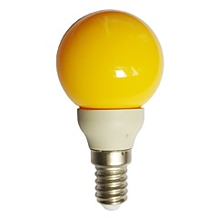 0.5W E14 LED Globe Bulbs G45 7 Dip LED 15-25 lm Yellow 000 K Decorative AC100-240 V 1pc