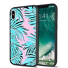 Недорогие Кейсы для iPhone 5-Кейс для Назначение Apple iPhone X iPhone 8 Plus С узором Задняя крышка Пейзаж Мягкий TPU для iPhone X iPhone 8 Pluss iPhone 8 iPhone 7