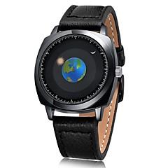 tanie Eleganckie zegarki-Męskie Damskie Modny Zegarek na nadgarstek Unikalne Kreatywne Watch Japoński Kwarcowy Chronograf Wodoszczelny Na codzień Silikon Skóra