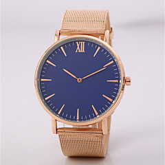 preiswerte Tolle Angebote auf Uhren-Herrn Damen Armbanduhr Quartz N / A Legierung Band Analog Freizeit Modisch Elegant Schwarz / Rotgold - Schwarz Rotgold / Jinli 377