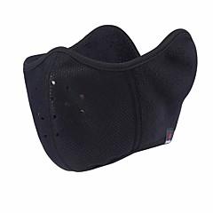 abordables Ropa de Protección-Herobiker motocicleta a prueba de viento máscara de oreja motocicleta bicicleta motocicleta media cara caliente máscaras máscara de polvo