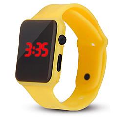 preiswerte Tolle Angebote auf Uhren-Damen Digitaluhr Chinesisch Chronograph / Armbanduhren für den Alltag / Cool Silikon Band Freizeit / Modisch / Minimalistisch Schwarz / Weiß / Blau