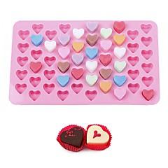 halpa -Bakeware-työkalut silikageeli Leivonta Tool / Syntymäpäivä / Ystävänpäivä for Ice / for Cake / for Cookie kakku Muotit