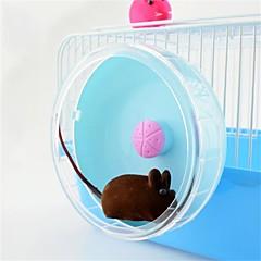 お買い得  小動物用アクセサリー-プラスチック パータブル おもちゃ ブルー ピンク