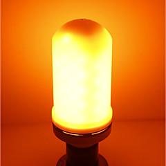 お買い得  LED 電球-SENCART 1個 5W 700lm E27 LEDコーン型電球 E27 / E14 96 LEDビーズ SMD LEDライト / 装飾用 / 炎効果 温白色 85-265V / CCC