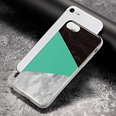 olcso iPhone 5 tokok-Kompatibilitás iPhone 8 iPhone 8 Plus iPhone 7 iPhone 6 iPhone 5 tok tokok IMD Hátlap Case Márvány Puha Hőre lágyuló poliuretán mert Apple