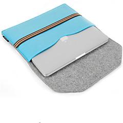 Недорогие Универсальные чехлы и сумочки-Кейс для Назначение Apple iPad Pro 12,9 '' Кошелек Защита от удара Водонепроницаемый Мешочек Сплошной цвет Твердый текстильный для iPad