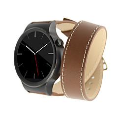 Недорогие Смарт-часы Аксессуары-Ремешок для часов для Huawei Watch Huawei Классическая застежка Натуральная кожа Повязка на запястье