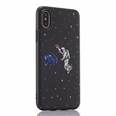 halpa iPhone 6s Plus kotelot-Etui Käyttötarkoitus Apple iPhone X iPhone 8 Plus Himmeä Taivas Kova varten