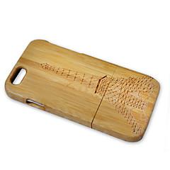 Недорогие Кейсы для iPhone 6-Кейс для Назначение Apple iPhone 6 iPhone 6 Plus Защита от удара Эйфелева башня Твердый для