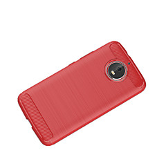 tanie Etui / Pokrowce do Motoroli-Kılıf Na Motorola C plus C Ultra cienkie Czarne etui Solid Color Miękkie TPU na Moto Z2 play Moto Z Force Moto Z Moto X4 Moto G5s Plus
