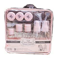 billige kosmetiske flaske indeholder-Kosmetikflasker Ensfarvet Elipse Plastik