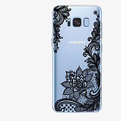 billige Galaxy S6 Edge Etuier-Etui Til Samsung Galaxy S8 Plus S8 Mønster Bagcover Blonde Tryk Blødt TPU for S8 Plus S8 S7 edge S7 S6 edge plus S6 edge S6