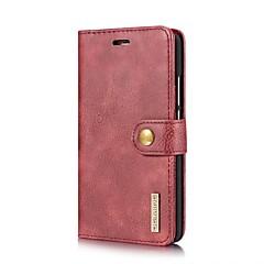 Недорогие Чехлы и кейсы для Huawei Mate-Кейс для Назначение Huawei Mate 10 Бумажник для карт со стендом Флип Чехол Сплошной цвет Твердый Кожа PU для Mate 10 Huawei