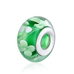 olcso Gyöngyök-DIY ékszerek 1 Perlice Zöld Golyó Üveg üveggyöngy 1.4 cm DIY Karkötők Nyakláncok