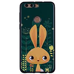 voordelige Hoesjes / covers voor Huawei-hoesje Voor Huawei Honor 9 Honor 8 Patroon Cartoon dier Zacht voor Huawei