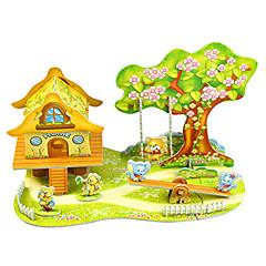 voordelige -Modelbouwsets Speeltjes Rechthoekig Sprookjes Thema Dier Handgemaakt Ouder-kind interactie voortreffelijk Zacht Plastic Volwassenen 1
