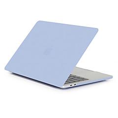 ราคาถูก อุปกรณ์เสริมสำหรับ Mac-กรณี macbook สำหรับ air pro retina 11 12 13 15 แล็ปท็อปปกสีทึบโปร่งใสแมตต์พีวีซีกรณีสำหรับ macbook ใหม่ pro 13.3 15 นิ้วด้วยการสัมผัสบาร์