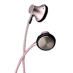 preiswerte Headsets und Kopfhörer-PHB P101 EARBUD Mit Kabel Kopfhörer Dynamisch Metal Pro Audio Kopfhörer Mit Lautstärkeregelung / Mit Mikrofon Headset